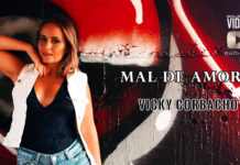 Vicky Corbacho - Mal de Amores (2019 Bachata lyric video)