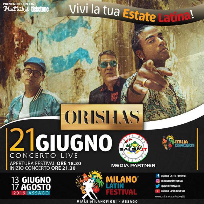 Concerto - Orishas 2019 (Milano Latin Festival)