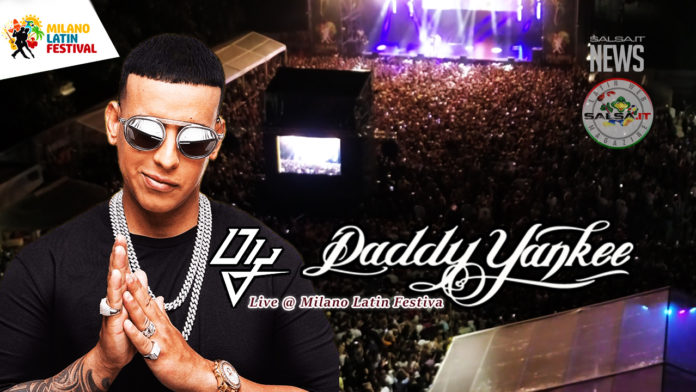 Daddy Yankee - Milano Latin Festival 2019 (El Maximo Lider fa Sould Out)
