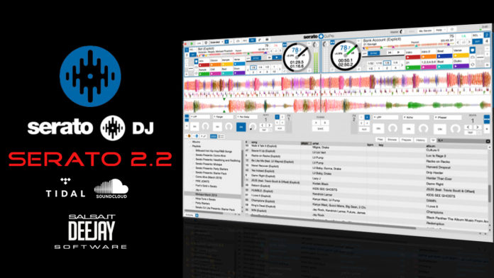 Salsa.it DeeJay - Serato DJ Pro 2.2 (Day Mode)