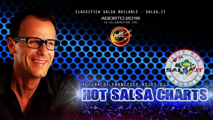 Hot Salsa Charts - Agosto 2019