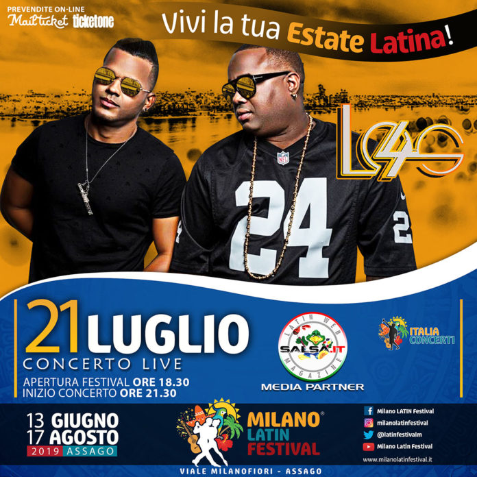 Los 4 2019 (Milano Latin Festival)