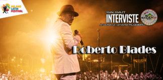 Roberto Blades Intervista (2019 Milano Latin Festival)