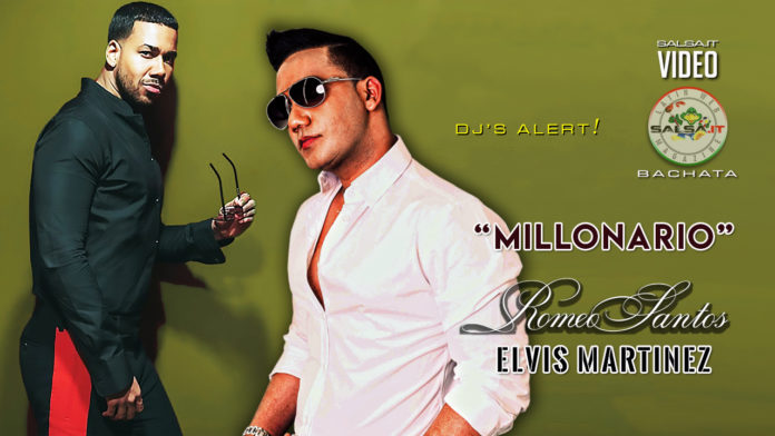 Romeo Santos, Elvis Martinez - Millonario (2019 Bachata official video)
