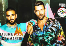 Maluma ft. Ricky Martin - No Se Me Quita (2019 latin urban official video)