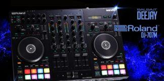 ROLAND DJ-707M - SERATO PRO DJ CONTROLLER