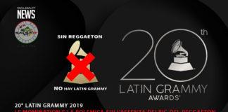 20 Latin Grammy Nomination - Sin Reggaeton (2019 News)