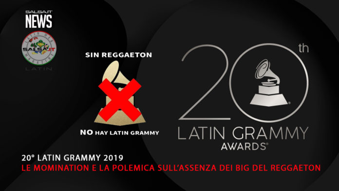 20 Latin Grammy Nomination - Sin Reggaeton (2019 News)