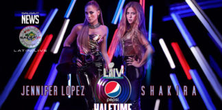 Jennifer Lopez and Shakira al Super Bowl 2020