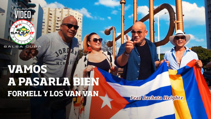 Los Van Van - Vamos A Pasarla Bien (2019 Salsa official video)