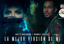 Natti Natasha, Romeo Santos - La Mejor Version de Mi (2019 Bachata official video)