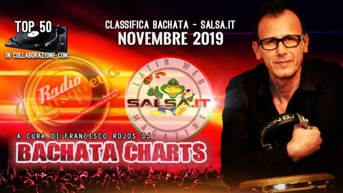 Bachata Charts - Novembre 2019 (Classifica Top 50)