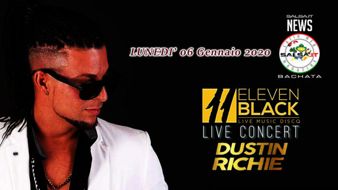 Dustin Richie in Concerto al Eleven Black di Galliate (NO)