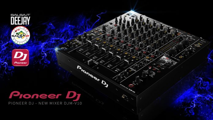 Pioneer DJ the new Mixer DJM-V10 (2020 News Dee Jay)