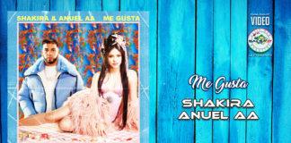 Shakira & Anuel AA - Me Gusta (2020 latin urban lyric video)
