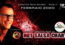 Hot Salsa Charts - Febbraio 2020
