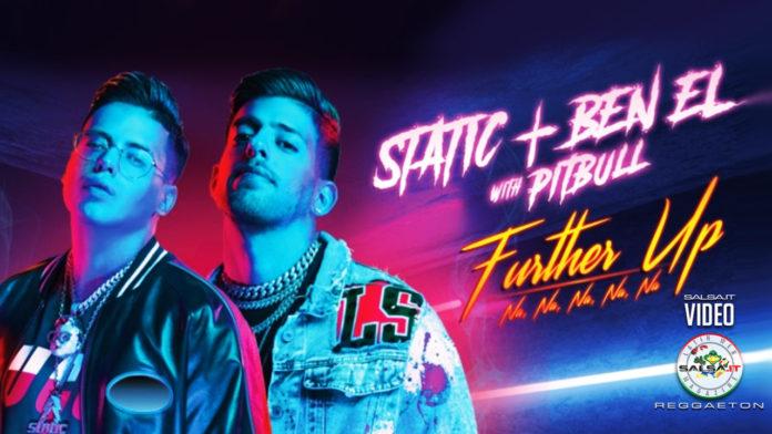 Static & Ben El, Pitbull -Further Up (Na, Na, Na, Na, Na) (2020 Reggaeton official video)