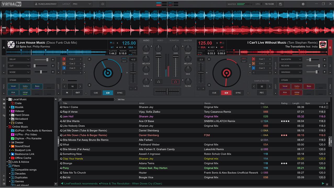 Virtual DJ 2021 - Gui-Pro