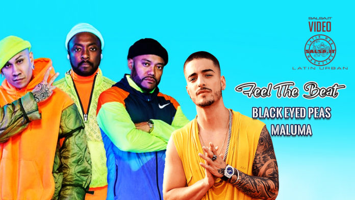 Black Eyed Peas, Maluma - Feel The Beat (2020 latin urban official video)