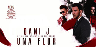 Dani J Ft. Dimen5ions, DJ Alejandro - Una Flor (2020 bachata Lyric video)
