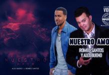 Romeo Santos, Alex Bueno - Nuestro Amor (2020 Bachata Lyric video)