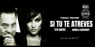 Tito Nieves ft Daniela Darcourt - Si Tu Te Atreves (2020 Bachata Lyric Video)