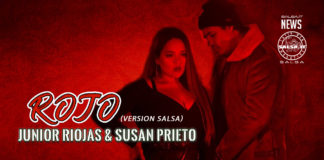 Junior Riojas & Susan Prieto - Rojo (2020 salsa official video)