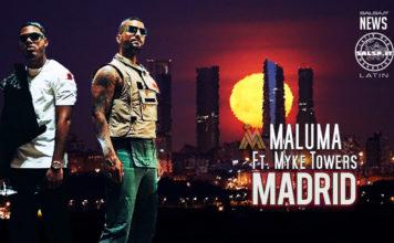 Maluma, Myke Towers - Madrid (2020 Reggaeton official video)