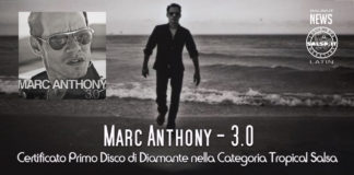 Marc Anthony - 3.0.- Primo album Tropical Salsa ad eseere certificato Disco di Diamante