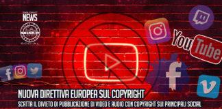 Nuova Direttiva Europea sul Copyright per i Social