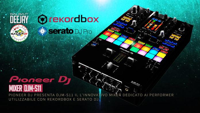 PIONEER DJ - DJM-S11 - Nuovo mixer per i DeeJay performer (DJ News 2020)