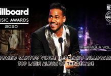 Romeo Santos vince il Premio Billboard Top Latin Album of the Decade (2020 Latin News)