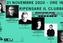 RIPENSARE IL CLUBBING - L'EVENTO ONLINE PER I DEE-JAYS (2020 News Salsa.it)