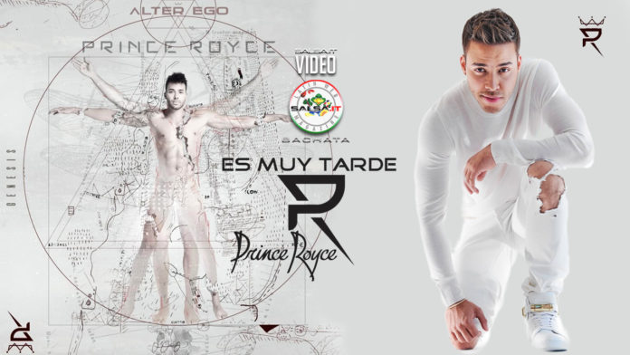 Prince Royce - Es Muy Tarde (2020 Bachata official video)