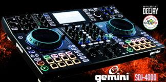 GEMINI SDJ-4000, IL NUOVO CONTROLLER TOP DI GAMMA (2021 Salsa.it DJ PRO)