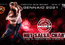 Hot Salsa Charts - Classifica Salsa Bailable - Gennaio 2021 (Los 50 Salsa Hit's)
