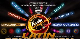 Latin Connection On Air su... Radio Quisqueya - Salsa.it - Mix-Claud - YouTube - Twitch TV (2021 News Salsa.it web)
