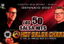 los 50 Salsa Hits - Gennaio 2021 (2021 Classifica Top 50 Salsa Bailable)