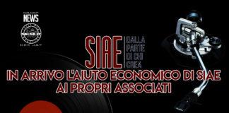IN ARRIVO L'AIUTO ECONOMICO DI SIAE AI PROPRI ASSOCIATI (2021 News Salsa.it)