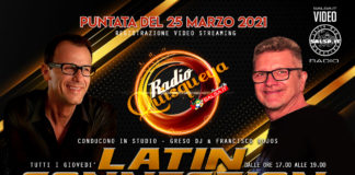 Latin Connection - Registrazione del 25 Marzo 2021