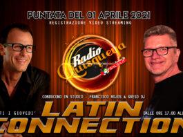 Latin Connection (Registrazione Video 01 Aprile 2021)