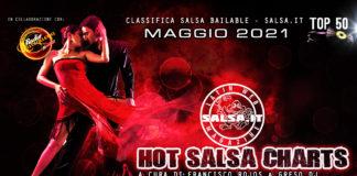 Hot Salsa Charts - Classifica Salsa Bailable - Maggio 2021 (Los 50 Salsa Hit's)