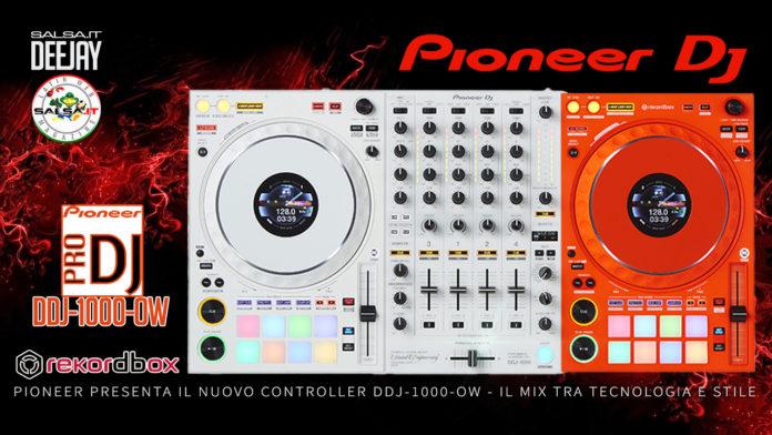 Salsa.it DeeJay - Pioneer DJ Controller DDJ-1000-OW