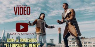 Ozuna y Romeo Santos - El Farsante Rmx