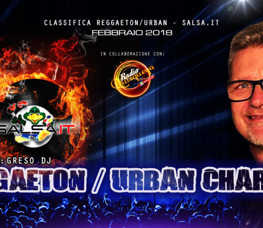 Reggaeton Urban Charts - Febbraio 2018