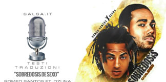 Romeo Santo Feat. Ozuna - Sbredosis De Sexo - Lyric