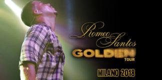 Romeo Santos - Golden Tour - Milano 2018