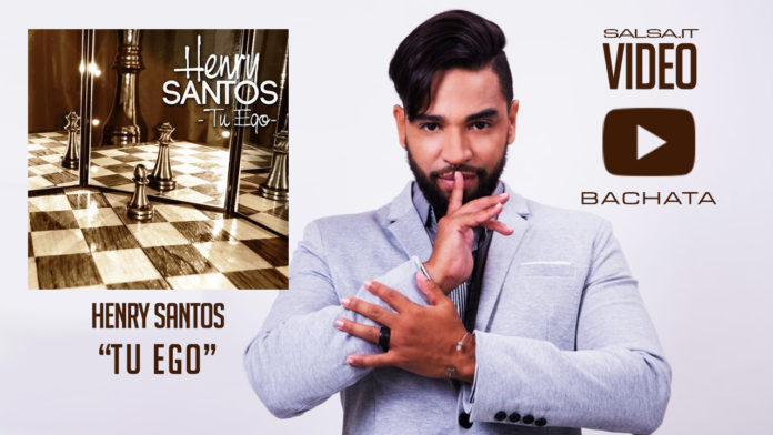 Henry Santos - Tu Ego (2018 Bachata Lyric Video)