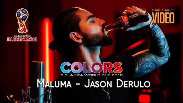 Maluma - Jason Derulo - Color (Sigla Fifa World Cup 2018)