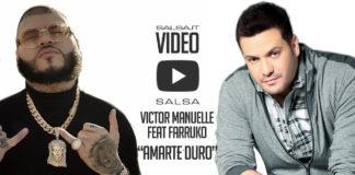 Victor Manuelle Ft. Farruko - Amarte Duro (2018 Salsa Video)